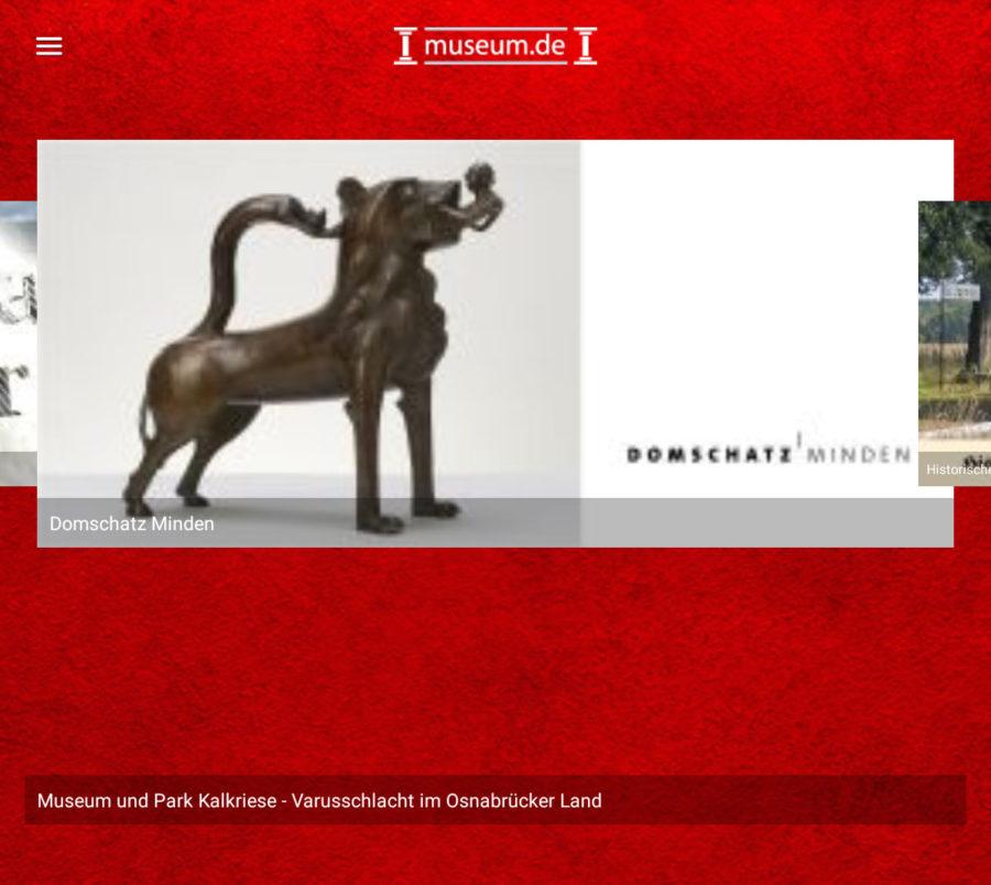 Museums-App museum.de