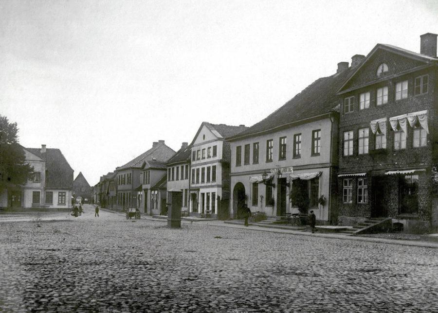 Neustadt in Holstein - Markplatz Ostseite