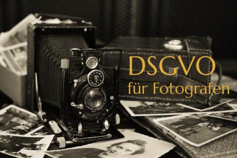 DSGVO für Fotografen