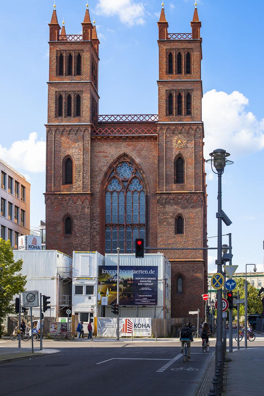 Friedrichswerdersche Kirche - Fassade
