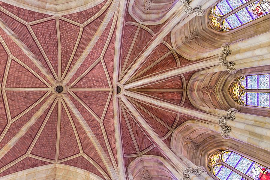 Friedrichswerdersche Kirche - Chorgewölbe