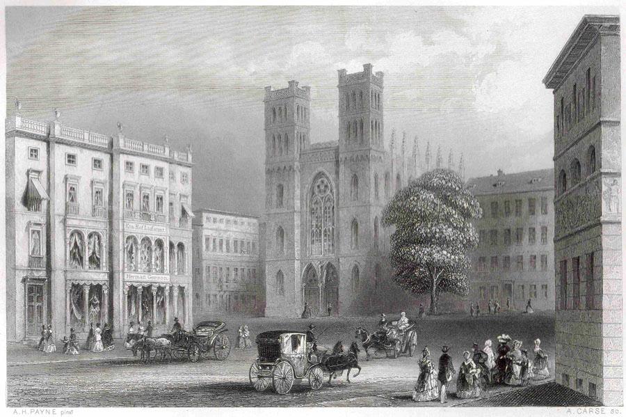 Friedrichswerdersche Kirche - um 1850
