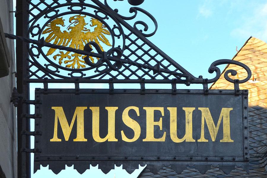 Eingang ins Museum