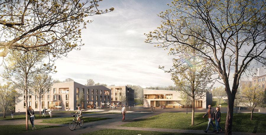 Goslar - Pfalzquartier - Entwurf Auer Weber