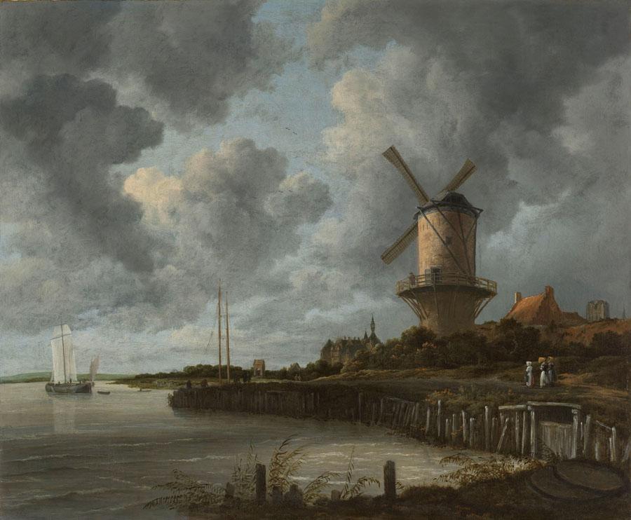 Jacob van Ruisdael - Die Mühle von Wijk bij Duurstede