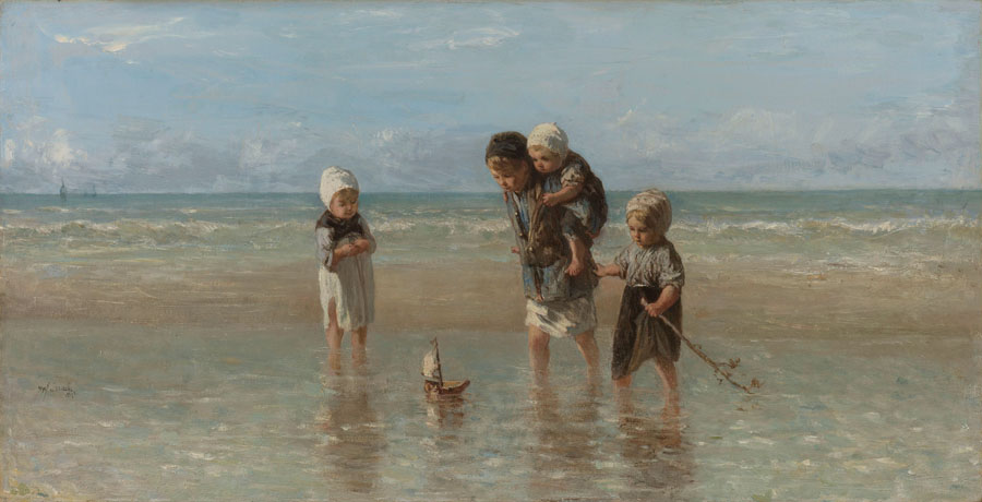 Jozef Israëls - Kinder der See
