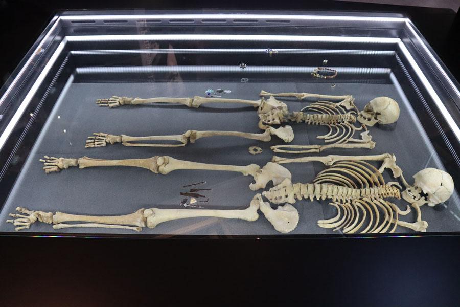 Archäologie-Museum Herne - Doppelbestattung Altenerding