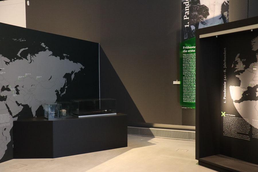 Archäologie-Museum Herne - Pestausstellung