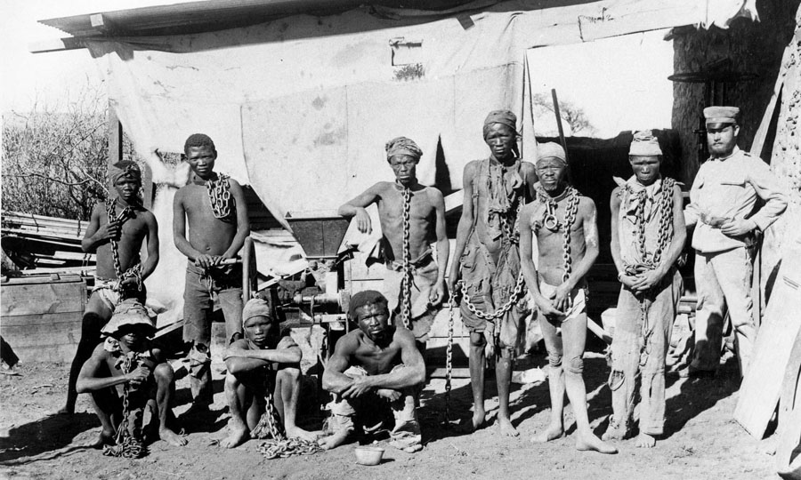 Gefangene Herero