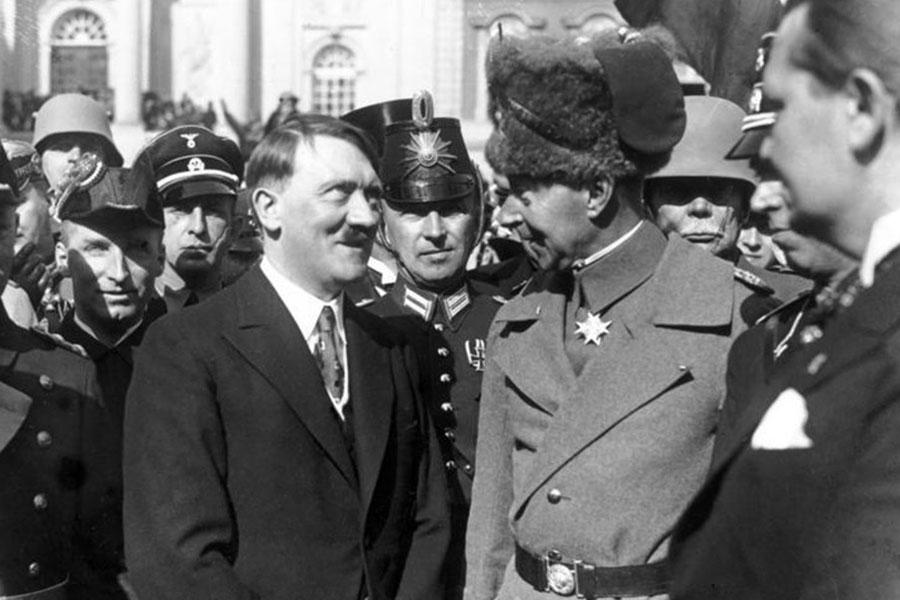 Adolf Hitler und Wilhelm Prinz von Preußen