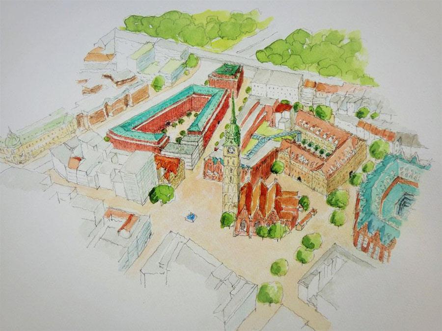 St. Ansgarii - Rekonstruktionsentwurf