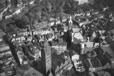 St. Ansgarii - Luftbildaufnahme