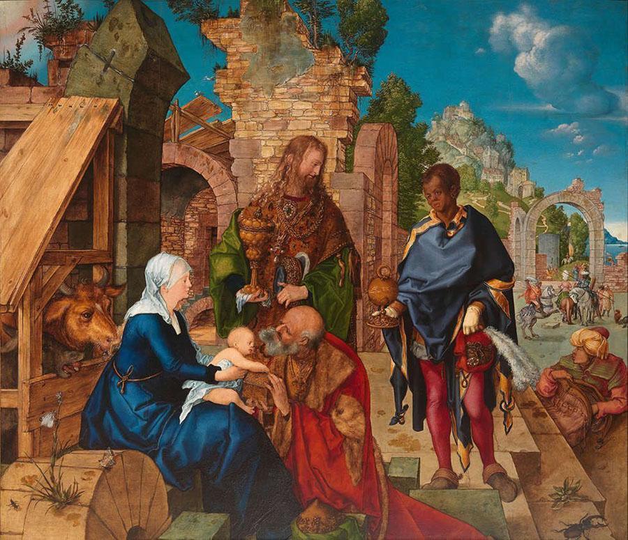 Albrecht Dürer - Anbetung der Könige