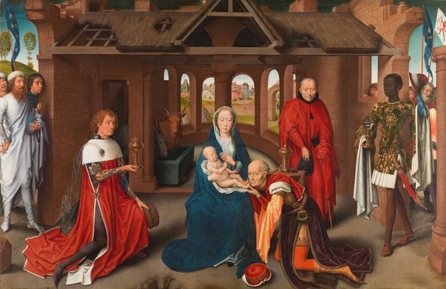 Hans Memling - Anbetung der Könige
