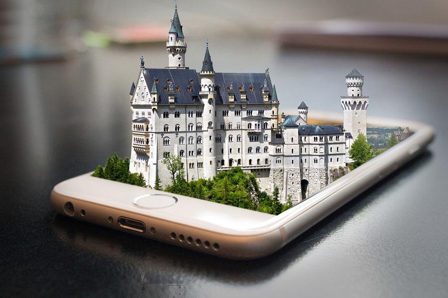 Smartphone Neuschwanstein
