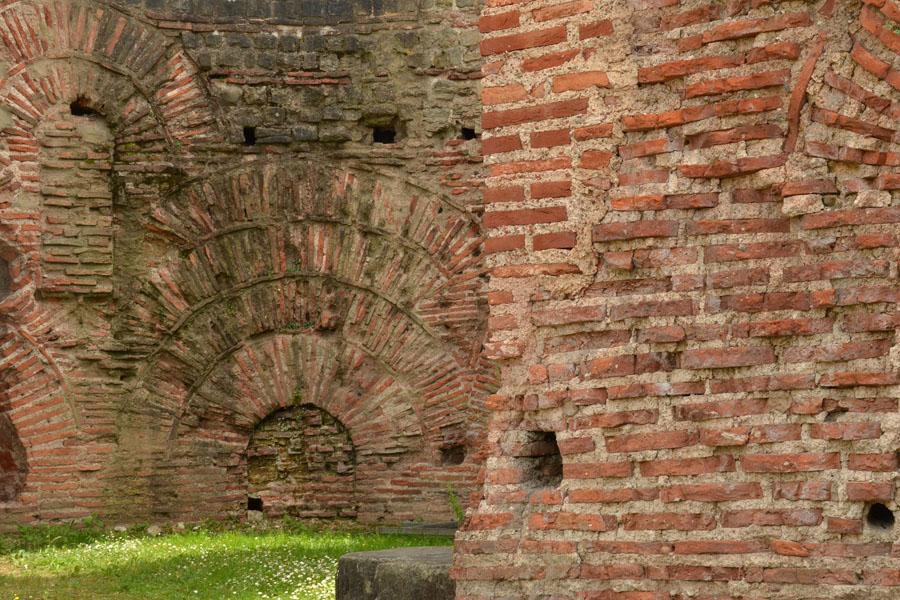 Römisches Backsteinmauerwerk