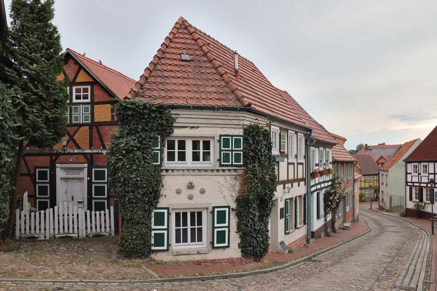 Plau am See - Altstadtgasse