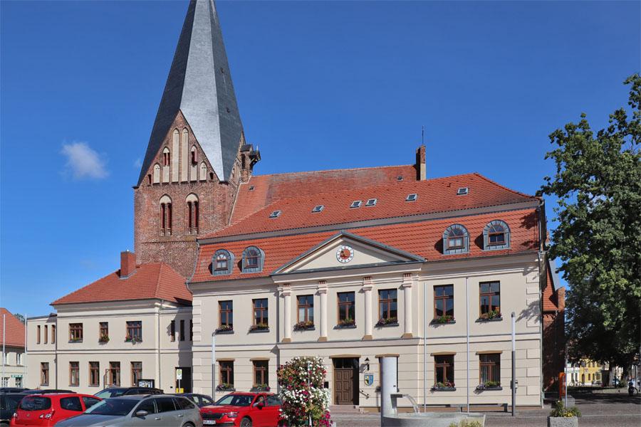 Röbel - Marktplatz