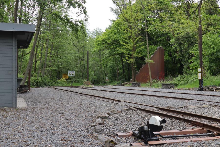 Bahnhof der Feldbahn