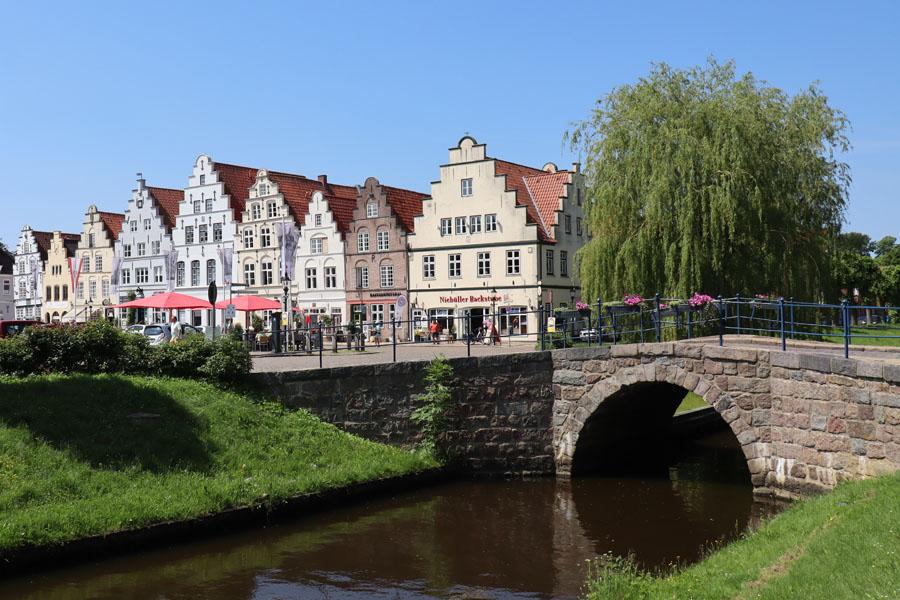 Friedrichstadt - Marktplatz