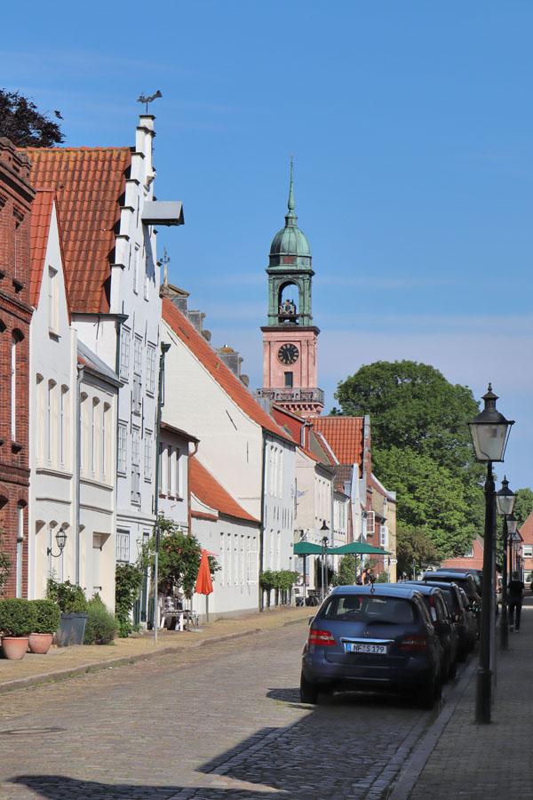 Friedrichstadt - Westerhafenstraße und Kirchenstraße