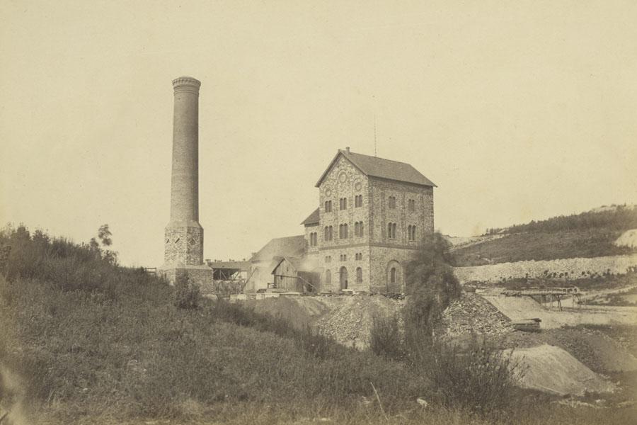 Haseschachtgebäude am Piesberg um 1874