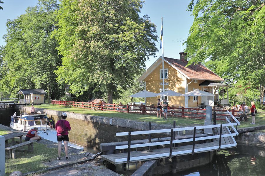 Schleuse Hajstorp