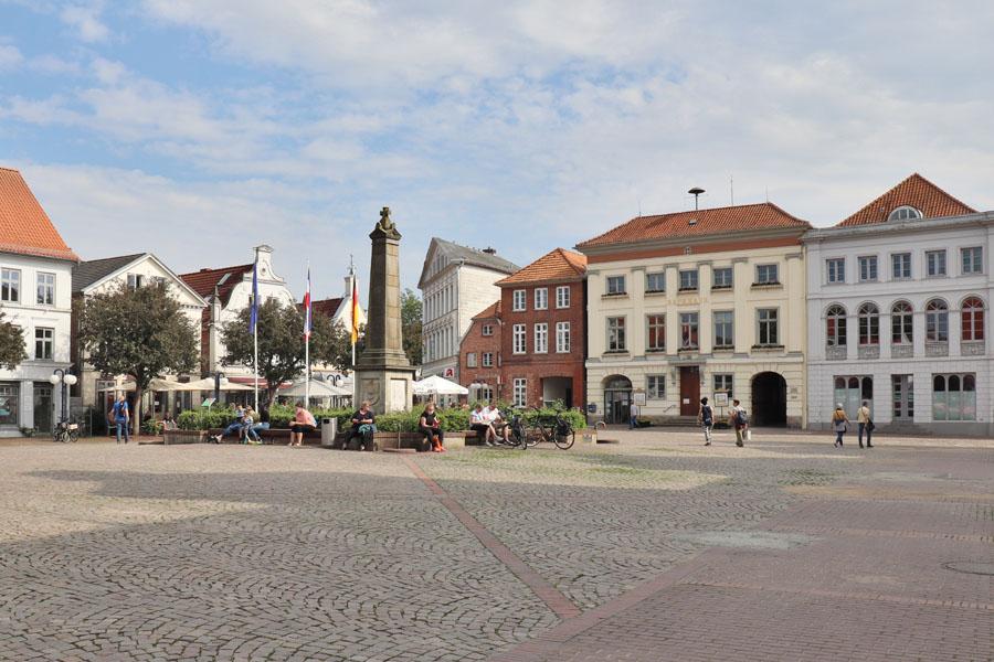 Eutin - Marktplatz