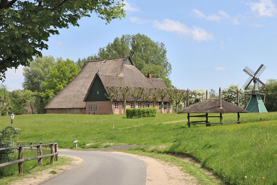 Freilichtmuseum Molfsee - Barghaus aus Arentsee