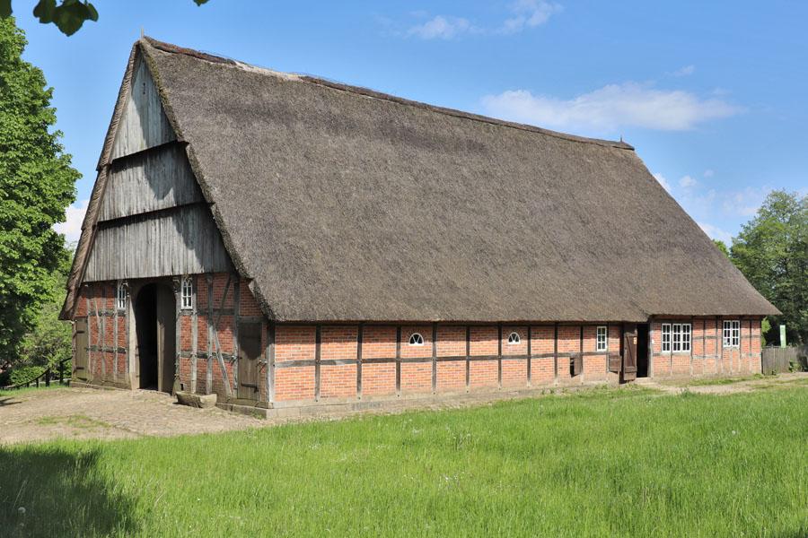 Freilichtmuseum Molfsee - Haus aus Großharrie