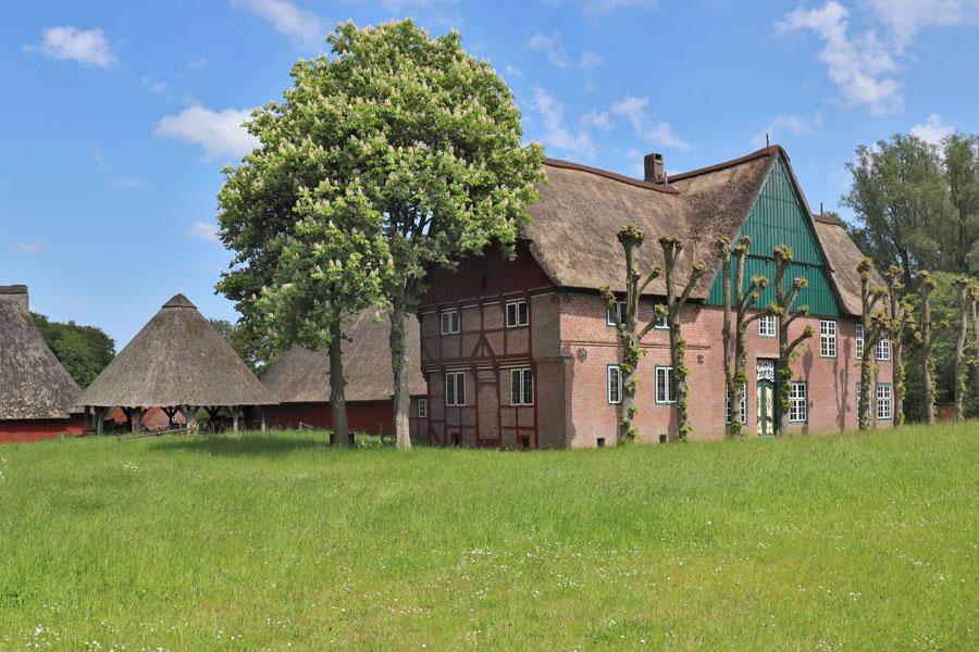 Freilichtmuseum Molfsee - Haus aus Herzhorn