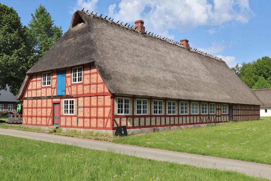 Freilichtmuseum Molfsee - Haus aus Süderbrarup