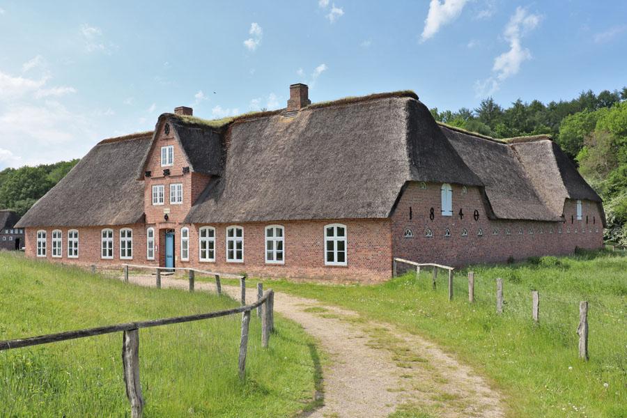 Freilichtmuseum Molfsee - Vierseithof aus dem Christian-Albrechts-Koog