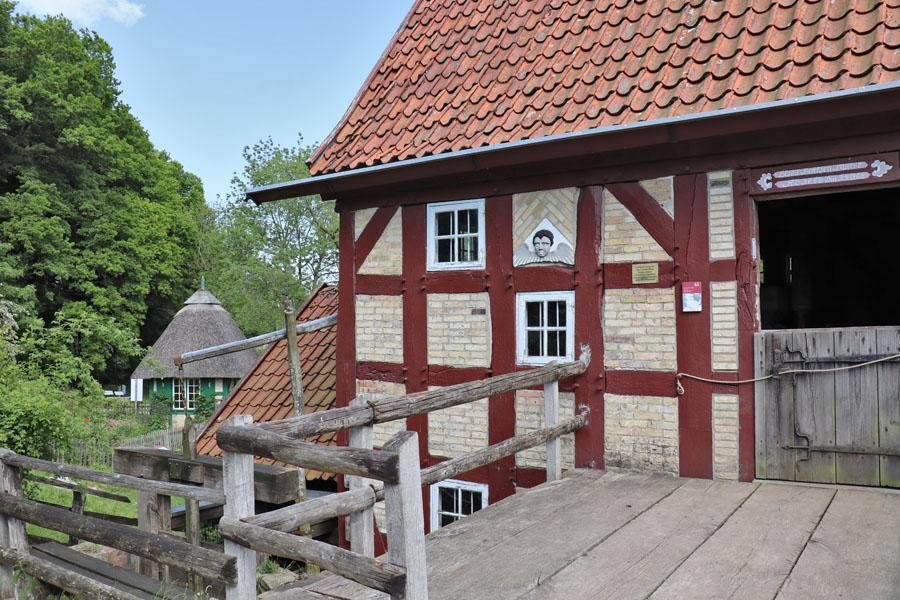 Freilichtmuseum Molfsee - Wassermühle aus Rurup
